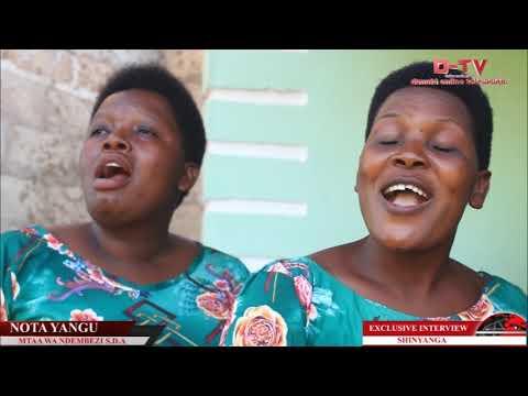 Download TAZAMA UBORA WA KWAYA YA NDEMBEZI SDA KUTOKA SHINYANGA HII NI EXCLUSIVE INTERVIEW NDANI YA #Dtv