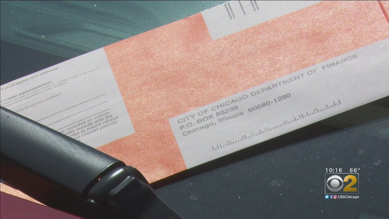 In Chicago, Decades-Old Parking Tickets Offer Drivers Few Options