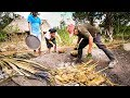 Ancient MAYAN FOOD - Jungle Cooking in MAYA VILLAGE in Quintana Roo, Mexico!
