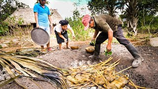 Download Ancient MAYAN FOOD - Jungle Cooking in MAYA VILLAGE in Quintana Roo, Mexico! Mp3 and Videos