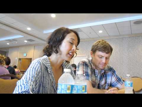 Marvel's Agents of SHIELD  with Executive Producers Maurissa Tancharoen and Jed Whedon