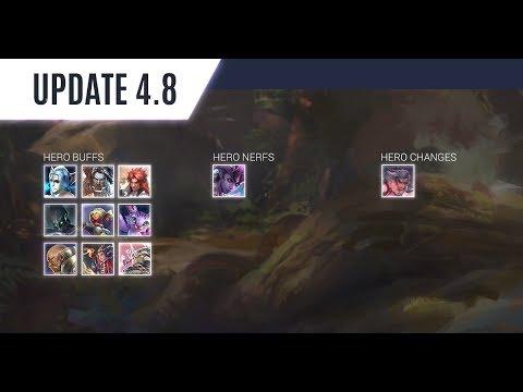 Vainglory Update 4.8 Changes