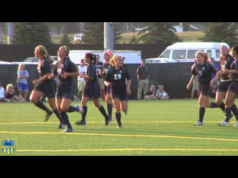 SD College Soccer Women University of Sioux Falls vs Augustana Highlights