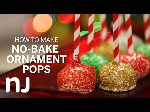 No Bake Oreo Ornament Pops Youtube