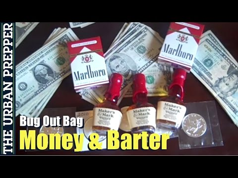 Money / Barter Items (Building a Bug Out Bag) by TheUrbanPrepper