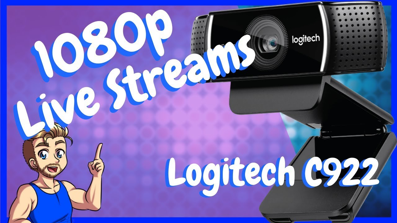 Best Live Streaming Camera Under $100 - Logitech C922 Review