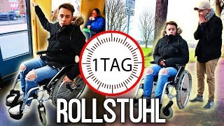 1 Tag lang im ROLLSTUHL GEFANGEN! | Max und Chris