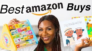 5 Top Educational Amazon Buys| Educational Toys For Your Toddler| Taré Bless