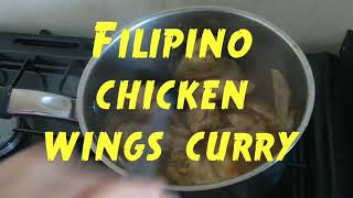 How to Cook Filipino Chicken Wings Curry