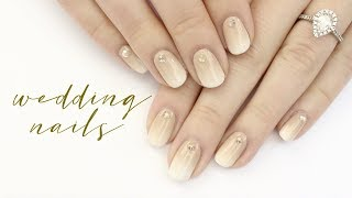 Ombré Bridal Nails | Wedding Nail Art Episode 1