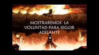 Shingeki no Kyojin OST-Vogel im Kâfig (Sub Español)