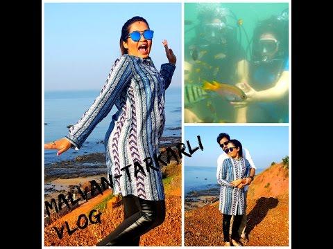 Travel Vlog Malvan,Sindhudurg | Scuba Diving | Tarkarli,Malvan Beach fun☺✌❤❤❤