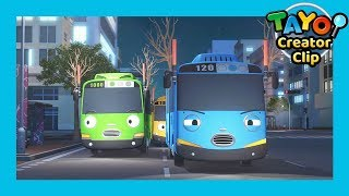 Tayo Episode Clip l The ghost incidents l Tayo the Little Bus