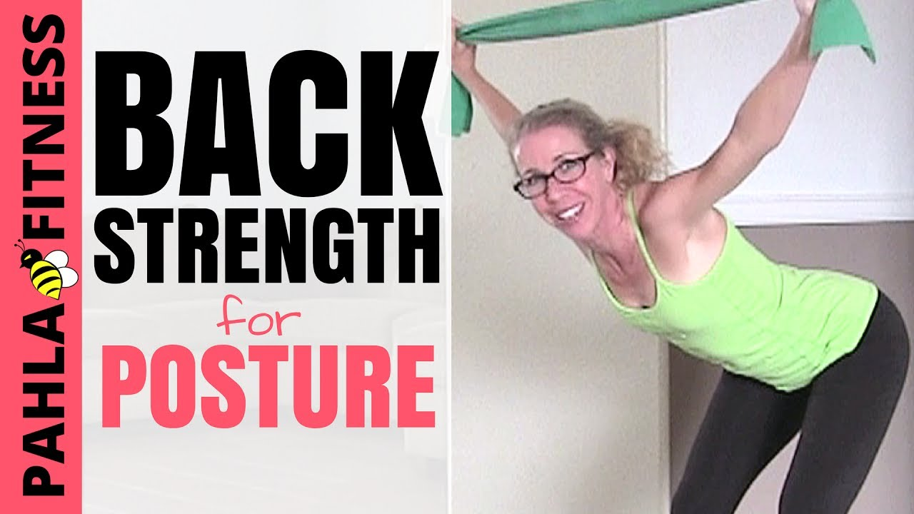 Upper Back Resistance Band Workout For Strength Tone And Posture