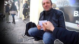 Social Experience #33: Distributing 1500€ to homeless people