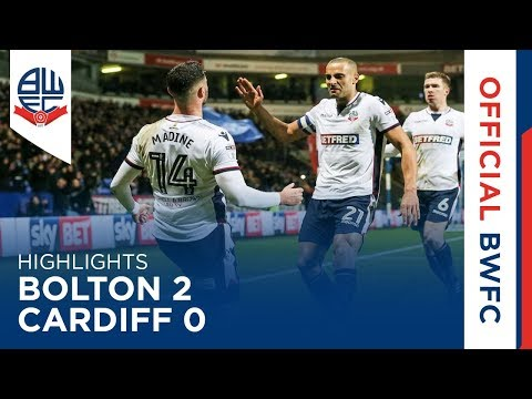 HIGHLIGHTS | Bolton 2-0 Cardiff