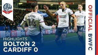 HIGHLIGHTS | Bolton 2-0 Cardiff