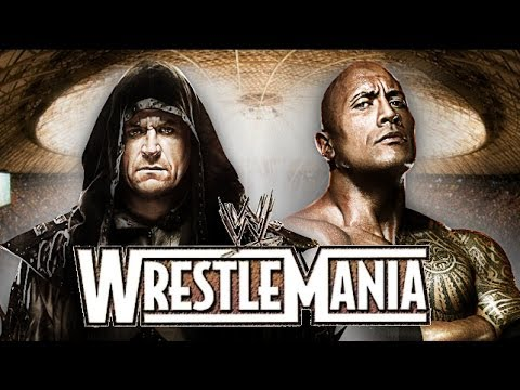 The Rock vs Undertaker Promo Wrestlemania 31 HD (New Edition) thumbnail