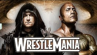 The Rock vs Undertaker Promo Wrestlemania 31 HD (New Edition)