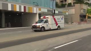 BC Ambulance Service 62939 Responding