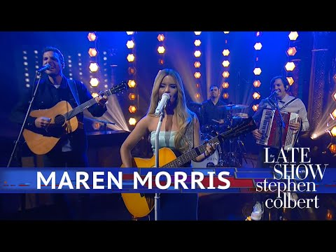 Vern - Maren Morris on The Late Show