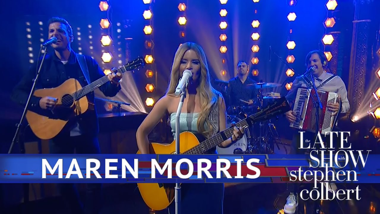 Watch Maren Morris Perform 'A Song For Everything' on 'Colbert'