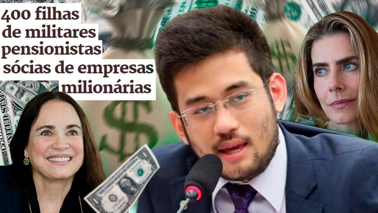 Sócias de empresas BILIONÁRIAS recebem pensão militar