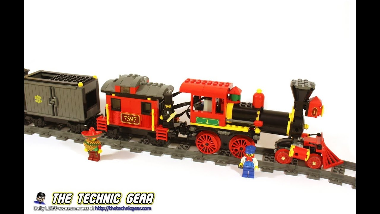 HOWTO Motorize LEGO Toy Story Train - LEGO Reviews & Videos