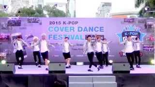 150905 NEO Planet cover EXO - Love Me Right + Call Me Baby @Thailand 2015 K-POP Cover Dance Festival