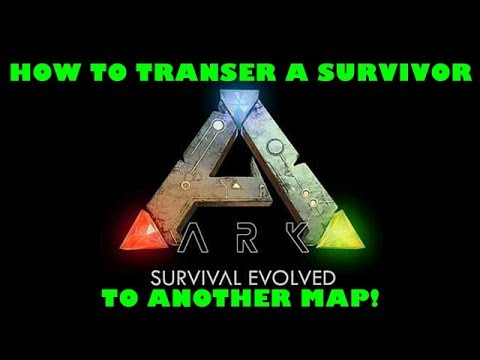 Ark PS4: How To Upload/Download A Character To Different Maps In Single Player!
