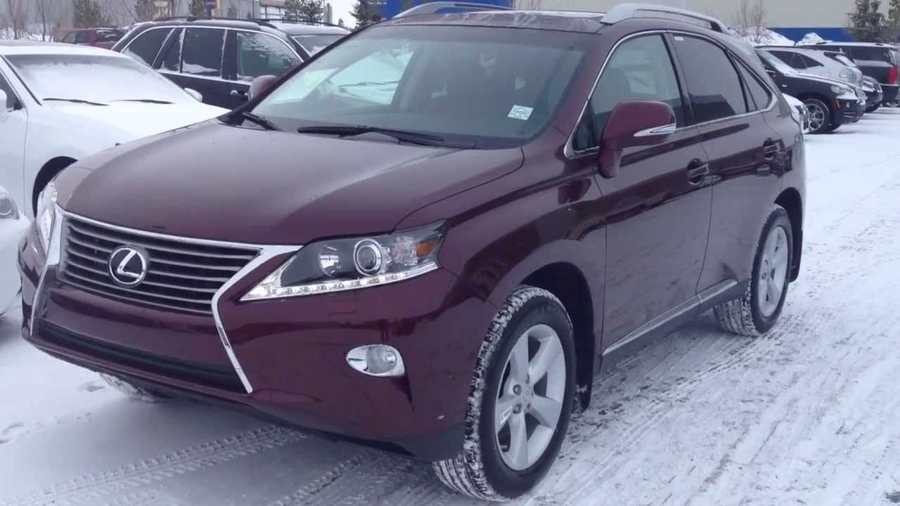 lexus 2014 rx 350 red. 2014 lexus rx 350 awd premium package review in red claret mica youtube rx 5