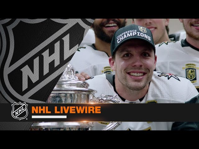 NHL LiveWire: Golden Knights mic'd up for Conference Final clincher