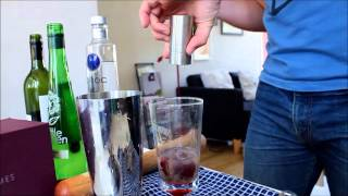 Ciroc Vodka Cocktail: Grapes Three Ways