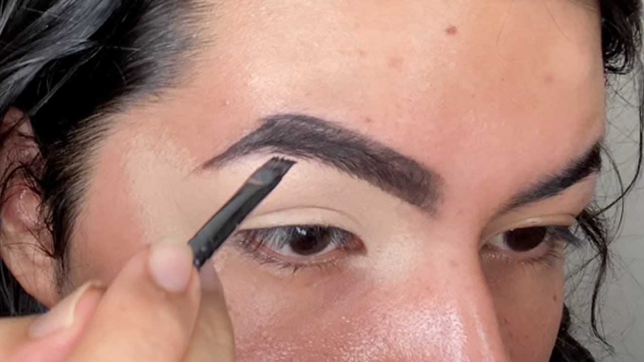 PERFECT Dark Brown/Black Eyebrow TUTORIAL | You Need This in 2021
