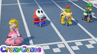 Super Mario Party - All Racing Minigames Gameplay