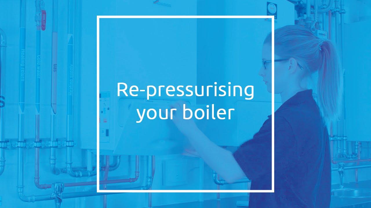 Repressurising a Boiler - YouTube