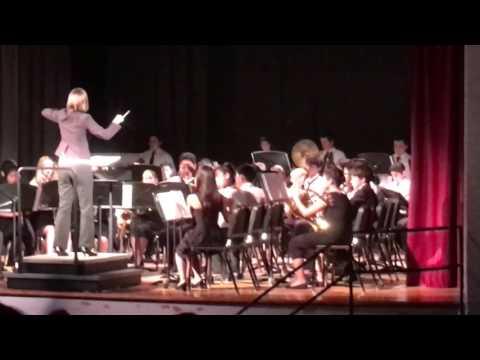 Brea Junior High School Intermediate Band Spring Concert 2016 Part 3