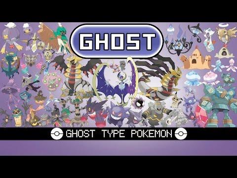 All Ghost Type Pokémon