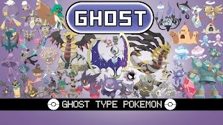 All Ghost Type Pokémon