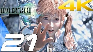 Final Fantasy XIII - Walkthrough Part 21 - Barthandelus Boss [4K 60FPS]