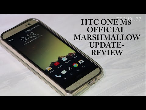 HTC One M8 Official Marshmallow Update