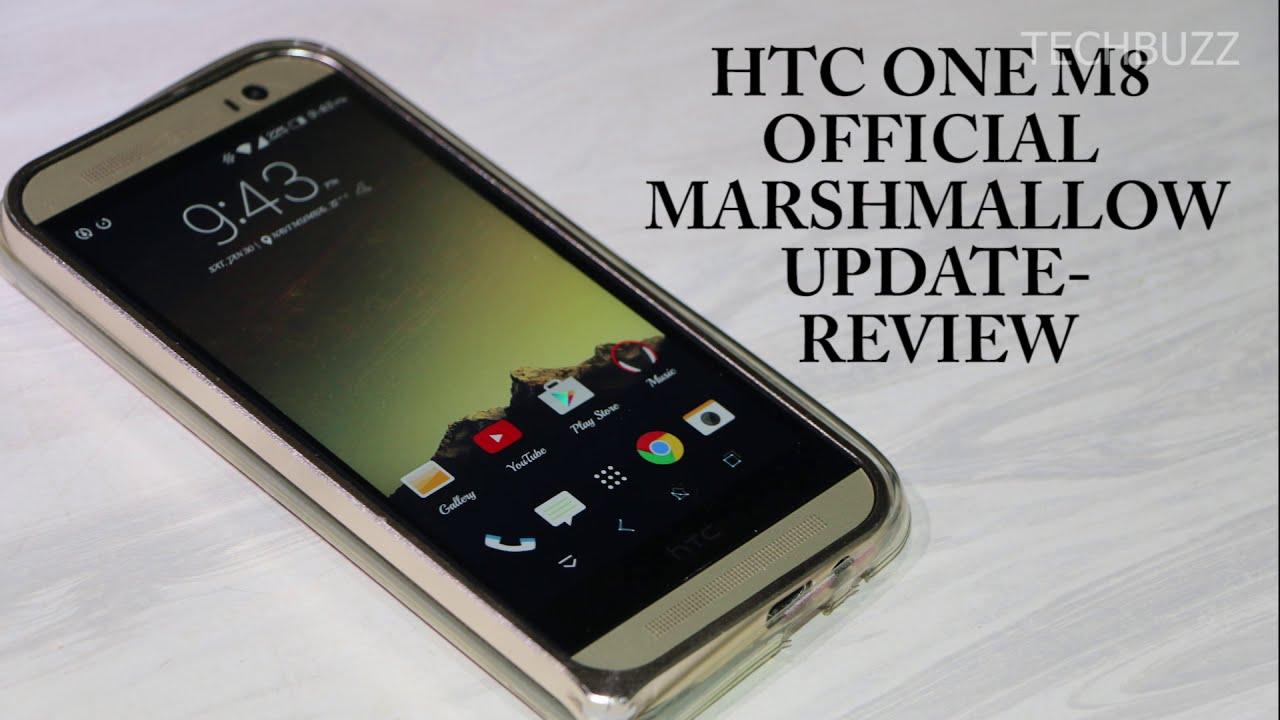 Htc One M8 Marshmallow Update