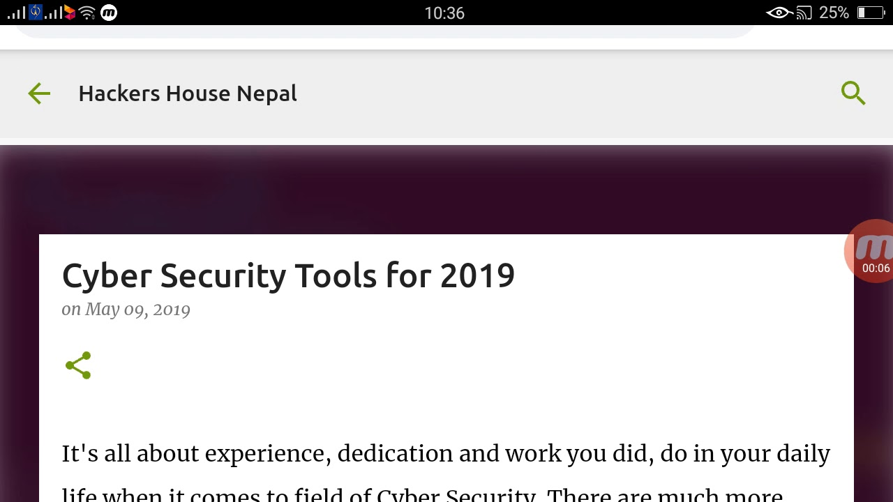 Cyber Security Tools for 2019