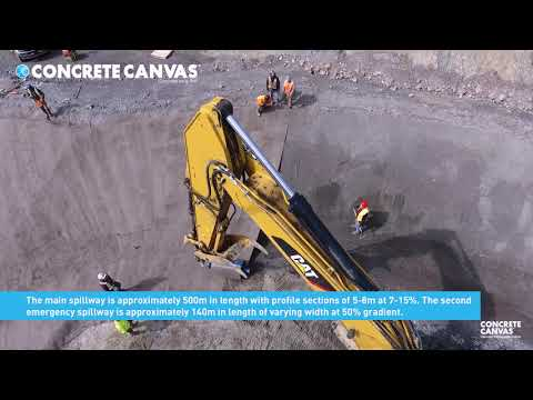 Case Study: Concrete Canvas® Eagle Gold Mine Spillway (Yukon, Canada)