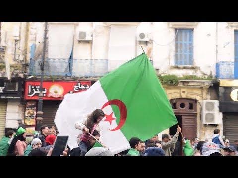 الاحتجاجات الشعبية تنعش تجارة الأعلام في الجزائر