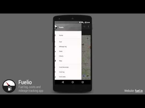 Fuelio - Fuel Log And Costs Tracking App For Android (old Version)