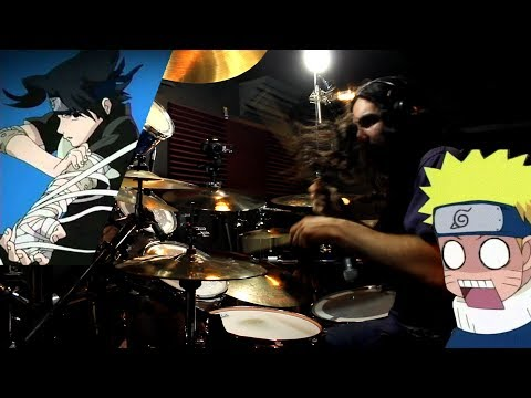 Kin | Naruto Opening 4th | GO!!! (Fighting Dreamers) | FLOW | Drum Cover (Studio Quality)