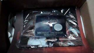 Michael Jackson Immortal (Super Deluxe Edition) CD, Book, T-shirt Unboxing