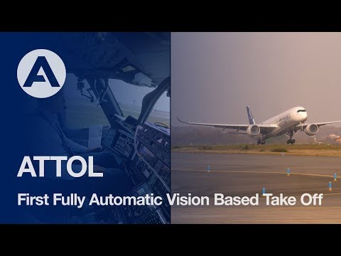ATTOL: Autonomous Taxiing, Take-Off and Landing test flight