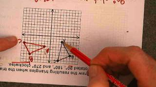 Rotations on the Coordinate Grid